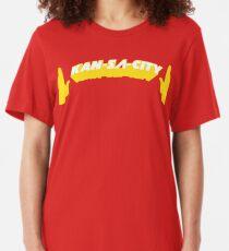 TOUCHDOWN KAN-SA-CITY! Slim Fit T-Shirt