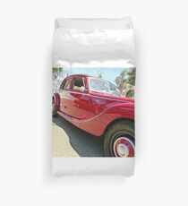 50's MG Convertible Duvet Cover
