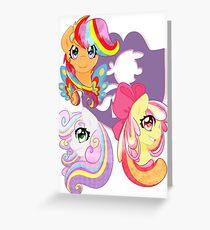 Rainbow Power - CMC Greeting Card