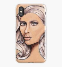 Libra ♎ Astrological Fantasy Portrait iPhone Case/Skin