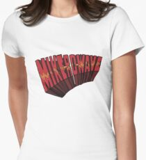 // Mike-Ro-Wave // Don't Stop Heroes // Michael // Women's Fitted T-Shirt