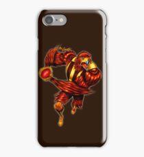 The Raging Hawk by Grange Wallis iPhone Case/Skin
