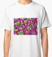 crazy fool abstract art Classic T-Shirt