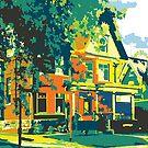 Cedarburg Art Museum - Cedarburg WI (bold) by katherinepaulin