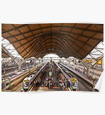 Southern Cross Station Poster