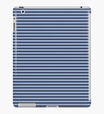 Serenity and Black Stripes iPad Case/Skin