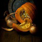 Still life with pumpkin by JBlaminsky