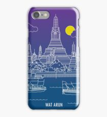 Wat Arun - Night iPhone Case/Skin