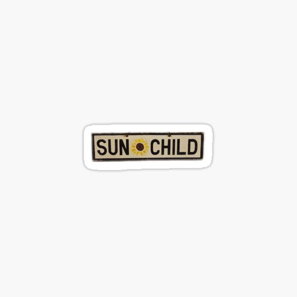 Sun Child Sticker