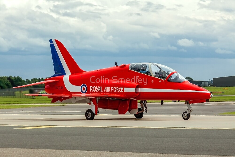 Red Ten Taxies in by Colin Smedley