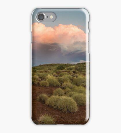 Thunderstorm brewing in the Pilbara iPhone Case/Skin