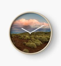 Thunderstorm brewing in the Pilbara Clock