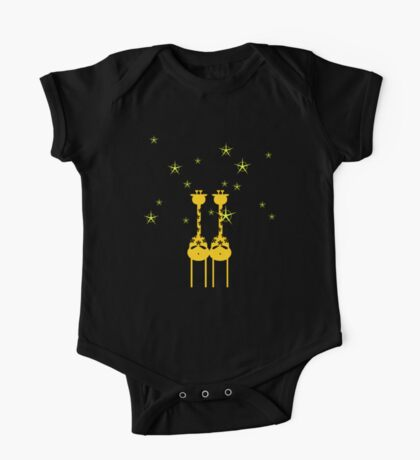 Giraffes in the Night VRS2 Kids Clothes