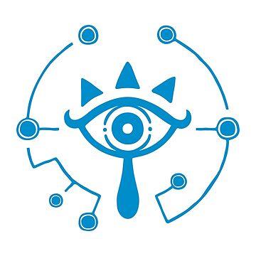 The Legend of Zelda: Breath of the Wild - Sheikah Slate Eye Symbol by AdLink