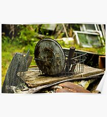 Old Metal and Wooden Stuff/Objects - Object Photography Poster