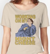 Liz Lemon - Night cheese Women's Relaxed Fit T-Shirt