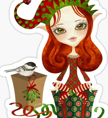 Jollybelle Elf Sticker