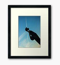 Shot Soldier - Travel Photography Framed Print