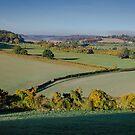 Across the Chilterns from Bledlow Ridge by David Howlett