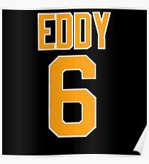 Cullen Eddy - Sheffield Steelers Ice Hockey Poster