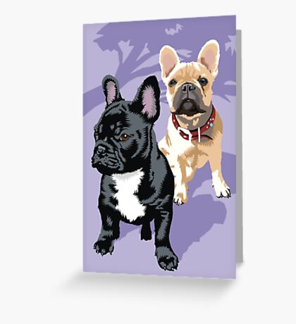 Diesel and Brie Greeting Card