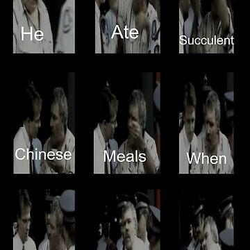 Comió una suculenta comida china cuando nadie más podía de ALF11