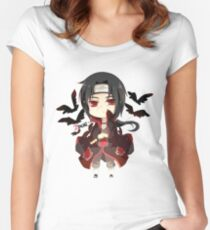 ITACHI Women's Fitted Scoop T-Shirt