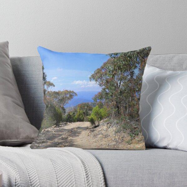 Billy Goat Bluff view Throw Pillow