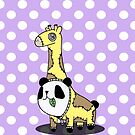 Panda Giraffe OVERLORD by Quincy Lim