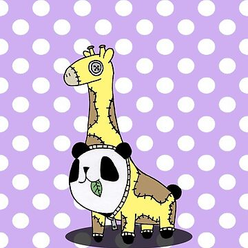 Panda Giraffe OVERLORD by QuincyLim