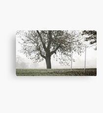 Westbridge Goalposts Canvas Print