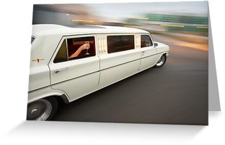 White Holden EH Limo rig shot by John Jovic