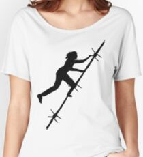 Barb Wire Girl Women's Relaxed Fit T-Shirt