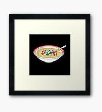 sup mushroom Framed Print