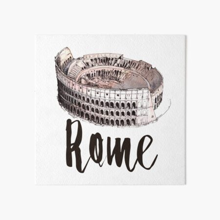 Rome Art Board Print