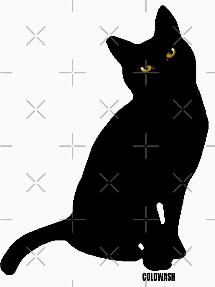 TShirtGifter presents: BLACK CAT | Classic T-Shirt