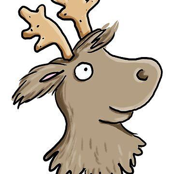 reindeer love by Tessa-Rath