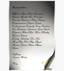 The Emotional Letter Poster