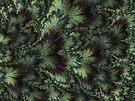 Hidden Deep in Forest Green by owlspook