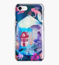 The house under the water iPhone Case/Skin