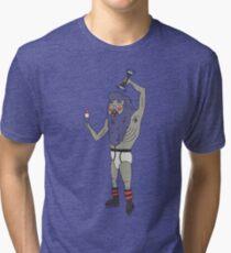 Flamboiant Grandpa Tri-blend T-Shirt