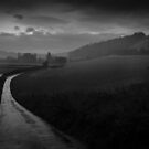 End of a wet day in the Chilterns by David Howlett