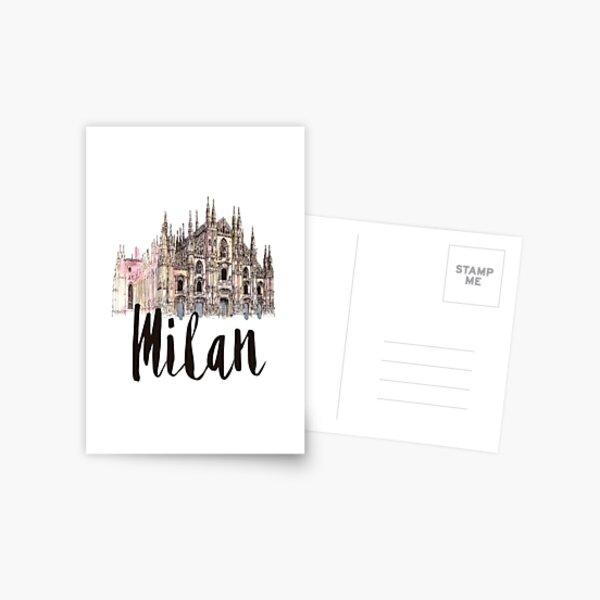 Milan Postcard