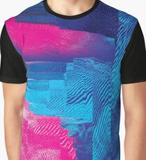 Intuition - Glitch Art Graphic T-Shirt