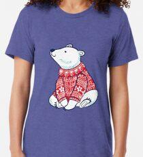 Polar bears Tri-blend T-Shirt