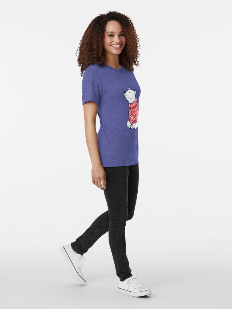 Alternative Ansicht von Eisbären Vintage T-Shirt