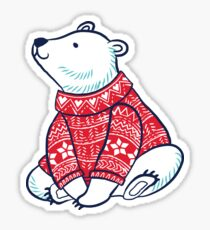 Polar bears Sticker