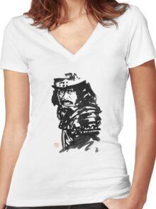 le chateau de l'araignée Women's Fitted V-Neck T-Shirt