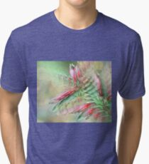 Flowers in abstract form Tri-blend T-Shirt