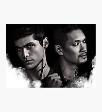 Malec Shadowhunters S2 Photographic Print